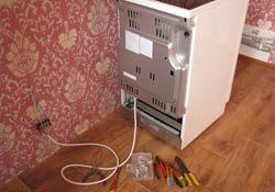 Подключение электроплиты. Артёмовские электрики.