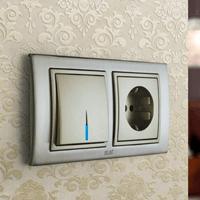 Установка выключателей в Артёме. Монтаж, ремонт, замена выключателей, розеток Артём.